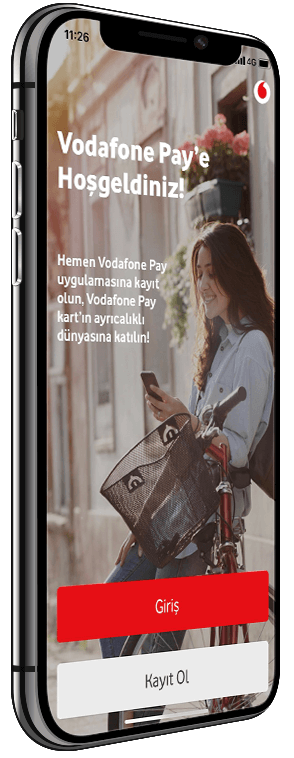 Vodafone Pay Uygulamasý
